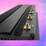 Jammer UHF VHF GPS Bluetooth мобильного телефона наивысшей мощности 15W с 6 антеннами