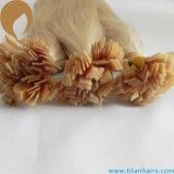 Da queratina humana do cabelo de #22 extensão lisa do cabelo da ponta Remy (TT398)