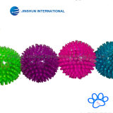 TPR Bouncy Floating Teeth Cleaning Spiky Ball Squeaky Toy pour chiens