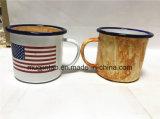 사기질 찻잔 우유 컵 야영 컵 선물 컵 Hand-Printed 커피 잔