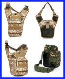 Saco de sela super Saco de ombro único Saco de acampamento táctico Camouflage Camping (SYSG-1837)