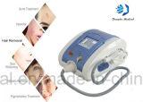 Shr portatile sceglie macchina di cura di pelle di rimozione dei capelli di IPL