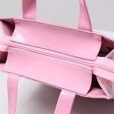 Roze Waterdichte pvc hart-Gevormde het Winkelen Zak (H032)