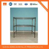 Estante de la pantalla de los acoplamientos del alambre de metal para el hogar