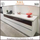 Mobilia di legno della cucina di nuovo di stile 2017 disegno moderno dell'armadio da cucina