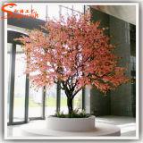 Árbol artificial del flor de cereza de la venta caliente 2016 para la decoración al aire libre o de interior