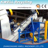 Máquina de lavar da tubulação do tambor da caixa do frasco, HDPE PP que recicl a máquina