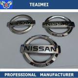 Le chrome en plastique de véhicule de collant de carrosserie d'ABS fait sur commande Badges des emblèmes