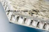 Panneaux composés en pierre desserrés par panneaux en aluminium de nid d'abeilles