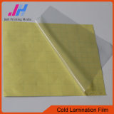 пленка слоения PVC 60micron 80GSM холодная
