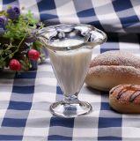 taza creativa del vidrio del helado de la alta calidad 185ml