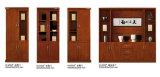 Grand bureau de la direction de bois antique Bibliothèque avec tiroirs