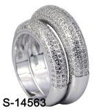 Commercio all'ingrosso d'argento dell'anello delle coppie dei monili 925 di modo