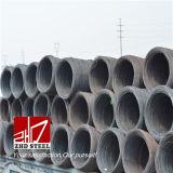 Filo di acciaio di SAE 1006 Rod, 5.5mm, prezzo della vergella per materiale da costruzione