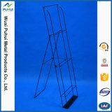 Сад стального провода пола стоя вставляет стеллаж для выставки товаров (PHY3041)