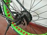 넓은 타이어 눈 자전거 바닷가 자전거를 가진 전기 자전거 자전거