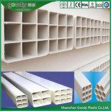 Труба решетки PVC хорошего качества пористая в конструкции