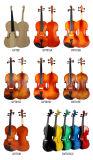 Violon électrique avec l'usine bon marché de violon de la bonne qualité 4/4 des prix
