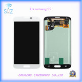 Affissione a cristalli liquidi dello schermo di tocco del telefono mobile per le visualizzazioni della galassia S5 Displayer di Samsung