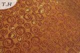 دائرة صغيرة مختلطة عملية جاكار أريكة قماش جانبا [330غسم]