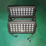 arandela ligera de la pared de 72PCS 10W 4in1 DMX LED