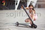 La roue 2 a plié l'E-Scooter de scooter de coup-de-pied de mobilité de batterie au lithium