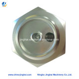 CNC Usinage Aluminium Tee Joint for Water Equipment