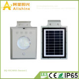 lámpara ambiental de 5W RoHS con el sensor de la empanada de la fábrica ligera solar del LED