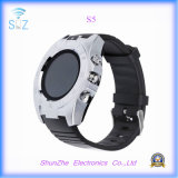Fashion Andriod S5 Metal Sport Smart Watch com monitoramento de saúde Bluetooth Phone Call