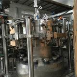 автоматическая линия машины завалки CSD стеклянной бутылки 6000bph жидкостная упаковывая