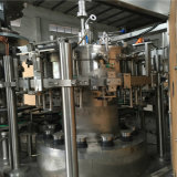6000bph自動ガラスビンCSDの液体の充填機の包装ライン