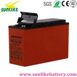 Sonnenenergie-Vorderseite-Terminaltelekommunikationsbatterie 12V55ah für Telekommunikationsprojekt