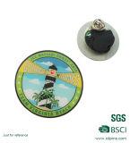Butterful 걸쇠를 가진 도매 스테인리스 수수께끼 접어젖힌 옷깃 Pin