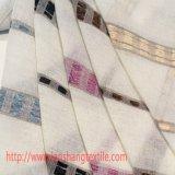Il tessuto del poliestere ha tinto il prodotto intessuto tessuto chimico del tessuto del jacquard per la tessile della casa della tenda del vestito dall'indumento