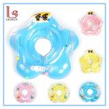 Círculo infantil del flotador del cuello de la seguridad de los accesorios del bebé para bañarse inflable