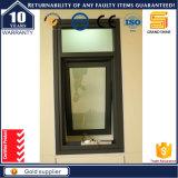 Окно застекленное двойником алюминиевое верхнее повиснутое с термально сломанным профилем