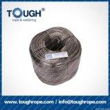 Fibra 100% resistente de Uhwmpe da corda da corda sintética cinzenta do guincho da cor 9.5mmx28m4X4