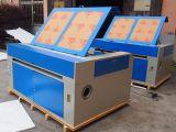 Laser-Scherblock des CNC Laser-Ausschnitt-Maschinen-Preis-GS1490 100W mit Puri Laser-Gefäß