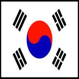 Koord van de Macht van Korea het Standaard van met Certificaat 16A