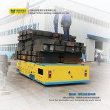 carro Trackless motorizado trole de transferência 25t para oficinas do cruzamento