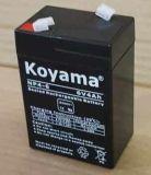 Kleines Leitungskabel saure Qualität AGM-Batterie der UPS-Batterie-6V4ah für Straßenlaterne