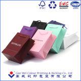 2016 주문을 받아서 만들어진 인쇄된 고품질 물색 종이 봉지, 의복 부대