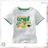 Младенец хлопка Oeko одевает тенниску младенца равнины печатание экрана