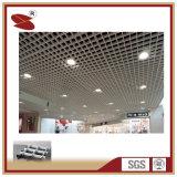 2017 techo de aluminio directo modificado para requisitos particulares de la red abierta de la célula del color de la fábrica, techo del aluminio de la decoración interior