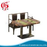 Старинная имитация дерева кофейный столик в ресторане (T-102)