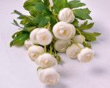 Bouquet de fleurs de pivoine artificielle pour les vacances de mariage