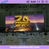 P3, P6 Indoor Rental LED Display Screen Board Fábrica de publicidade