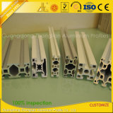Ranura de aluminio industrial anodizada modificada para requisitos particulares de la protuberancia T para el Multi-Cuarto
