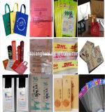 Impresora tejida PP de Flexo de los colores del bolso de compras del alimento cuatro