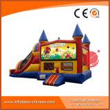 PVC子供(T3202)のためにコンボ膨脹可能な跳躍のスライドの城